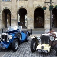 MG Car on Market Place