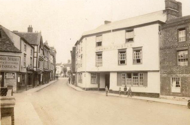 The Crown & Thistle, undated but probably 1930s.