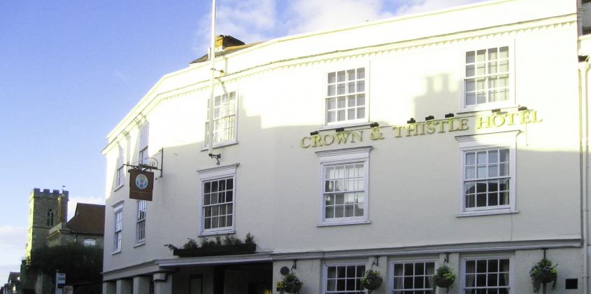 The Crown & Thistle in 2012
