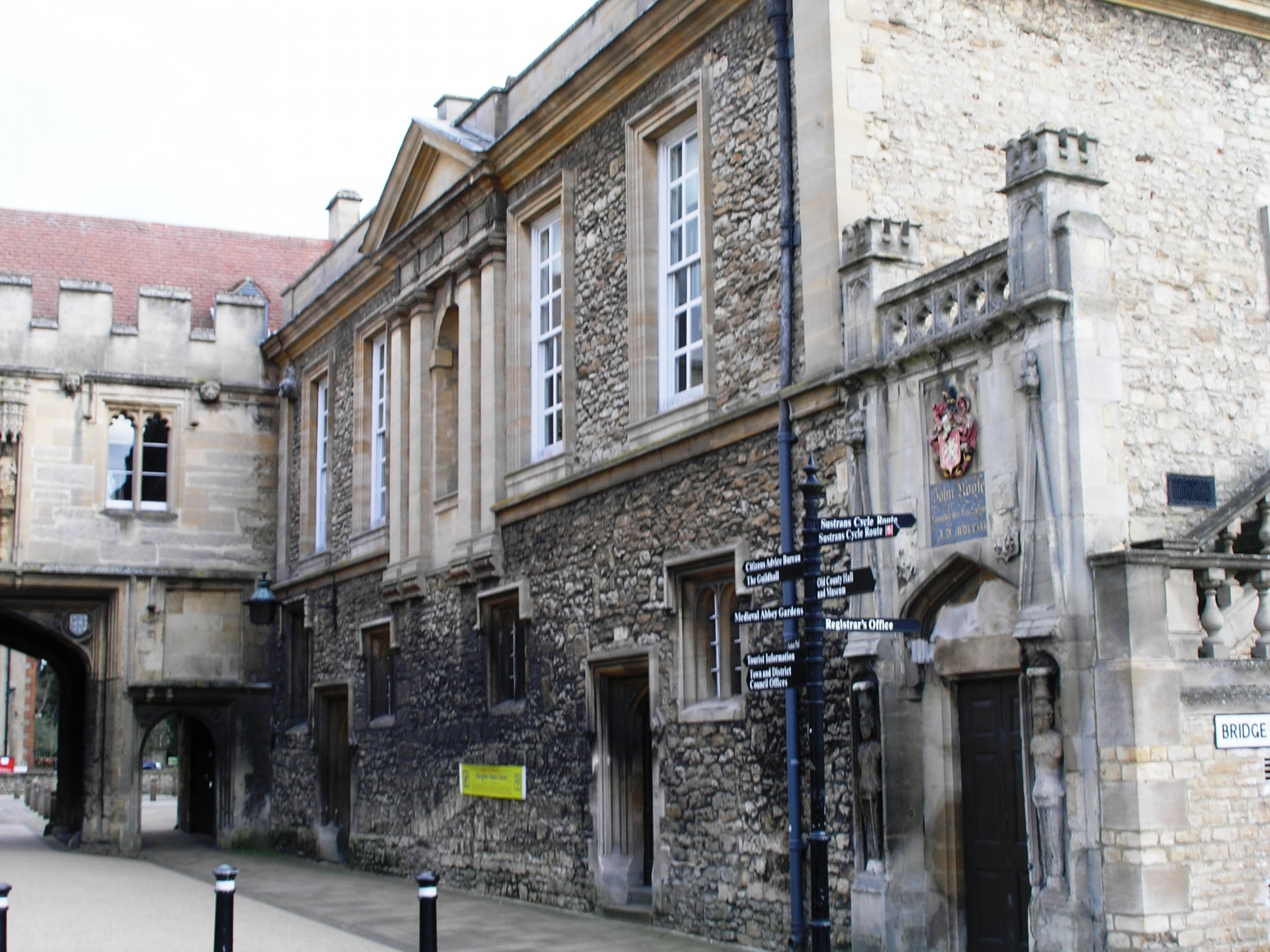 The Guildhall in 2013, north side