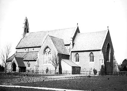 St Michael's in 1890 from the south east