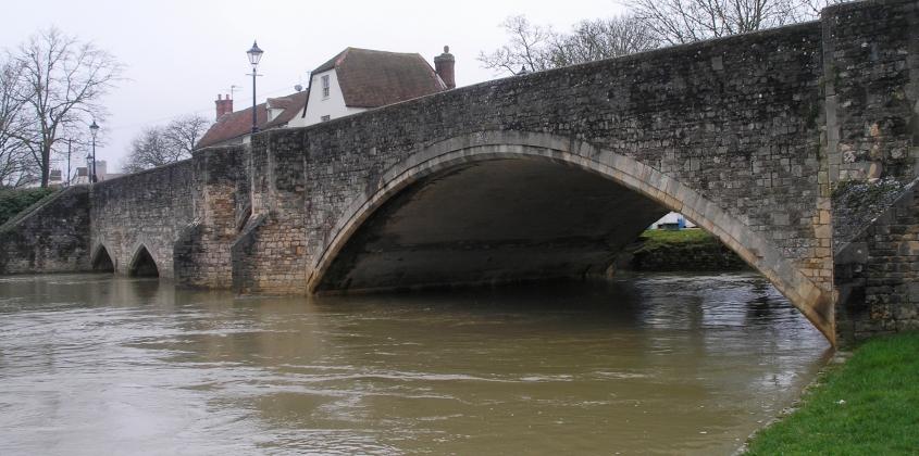 Abingdon Bridge in 2013