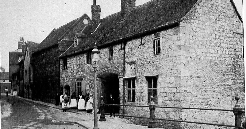 The Malthouse in about 1895 (Drury and Thomas (2003)