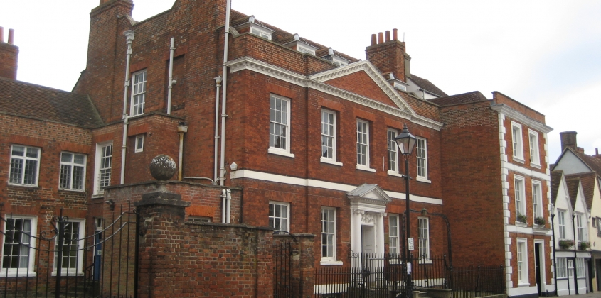 Twickenham House from the front