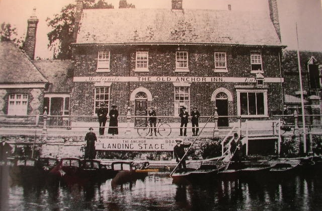 The Old Anchor in about 1890