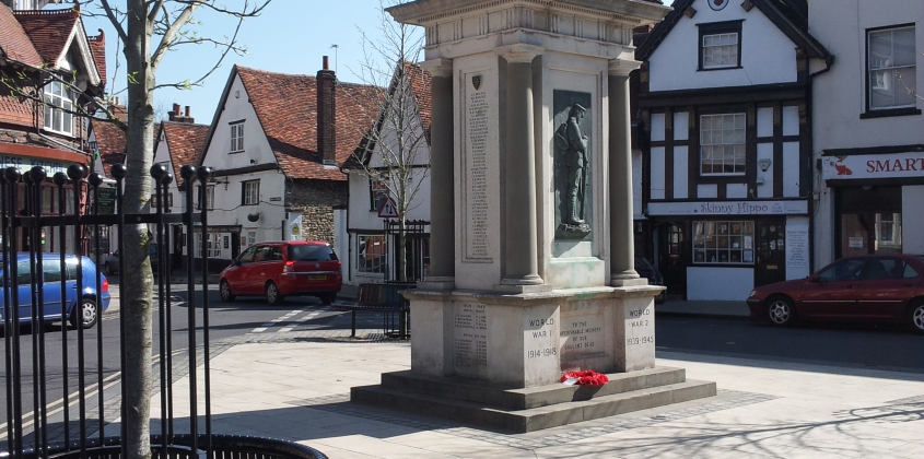 The War Memorial and The Square