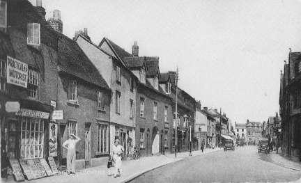 Ock Street in the 1920s