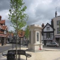 The Abingdon War Memorial in the Square