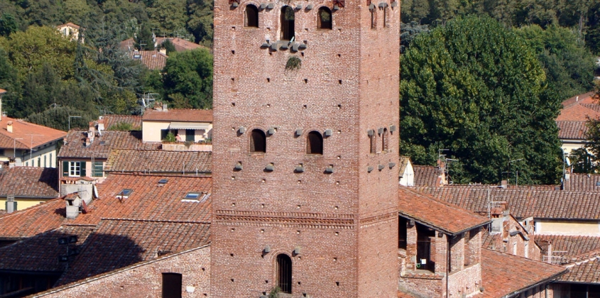 The Historic Italian town of Lucca.