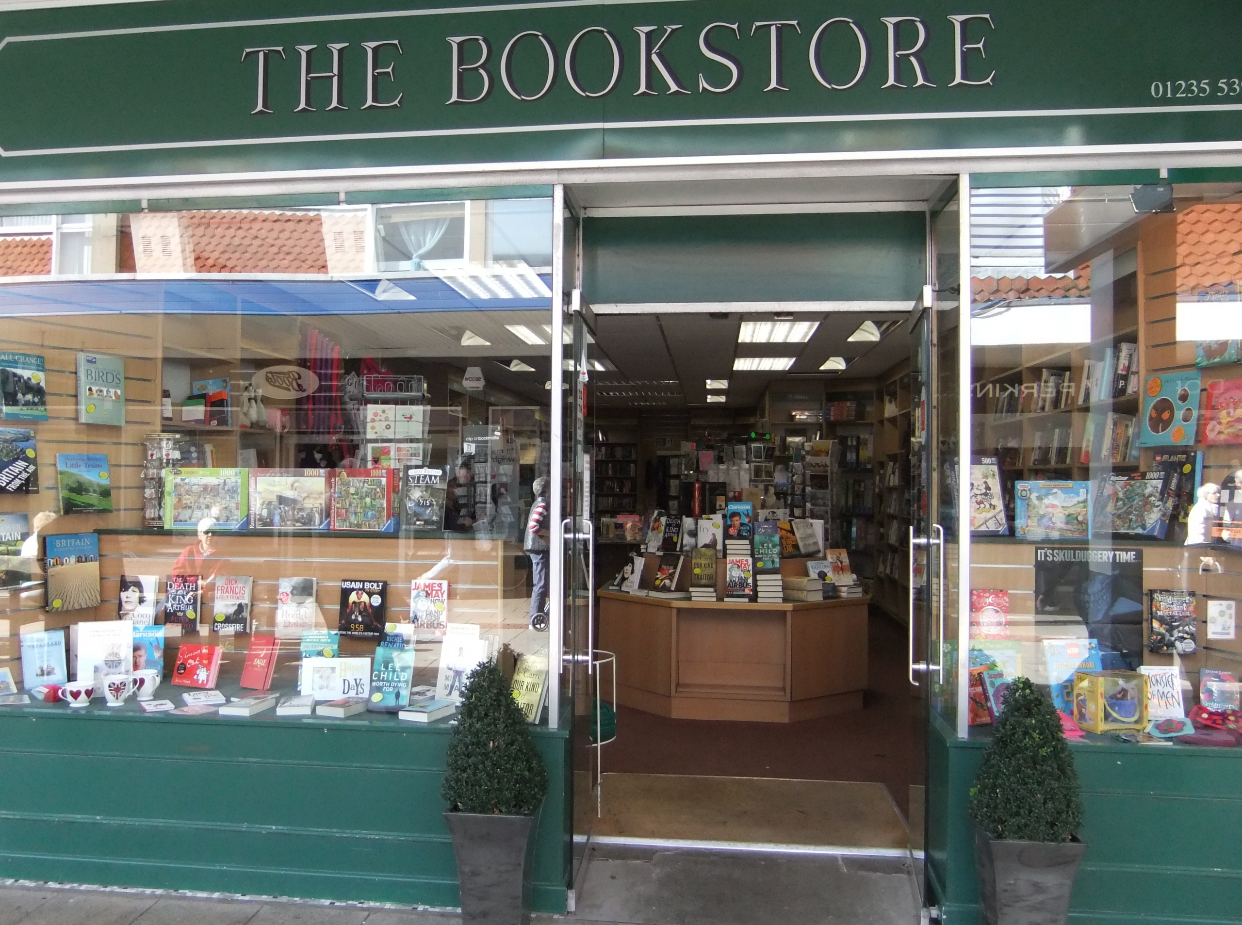 The front of The Bookstore in Bury Street