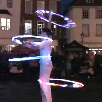Extravaganza all around Abingdon