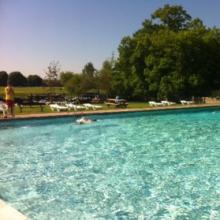 Outdoor Pool opening