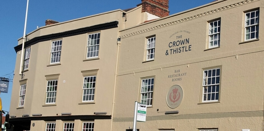 The new Crown and Thistle in Bridge Street