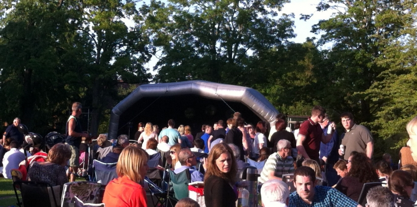 Fun in the Park and Music in the Park - 7 June 2014