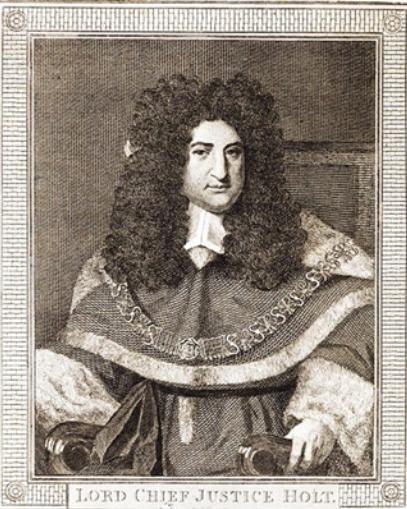Sir John Holt by Philipp Audinet, after van Bleek