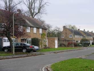A spacious and leafy estate