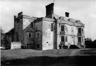 Fitzharris Manor – derelict, 1951