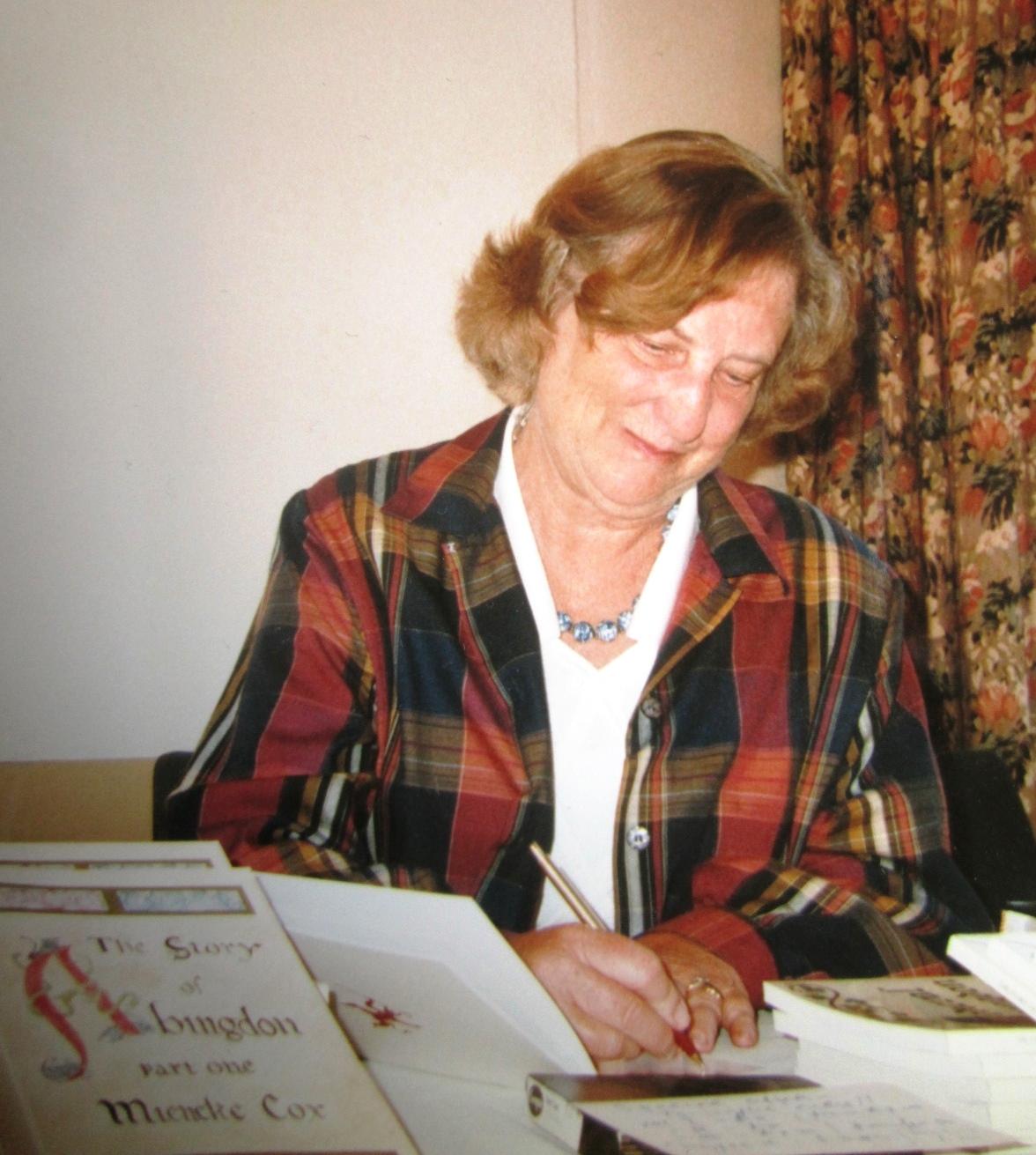 Mieneke Cox in 1996