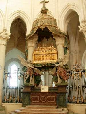 Shrine of St Edmund in the Abbey of Pontigny