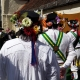 Abingdon Traditional Morris men waiting to hear the results of the ballot