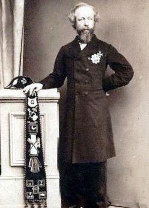 Sir George Bowyer as a Knight of Malta