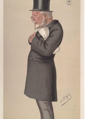 Sir George Bowyer  (Cartoon by 'Spy')