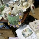 Stalls of vintage loveliness at Ruby's Fair in the Guildhall