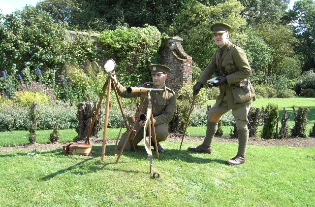 Signal School - one of the many events available to view throughout the day