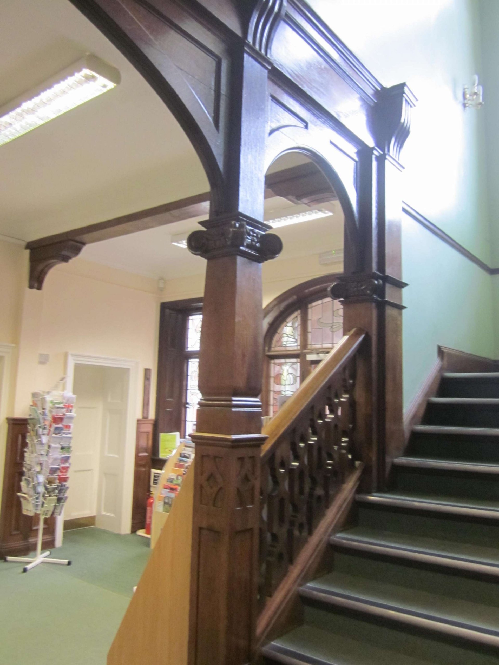 Fig.2 Entrance hall and staircase