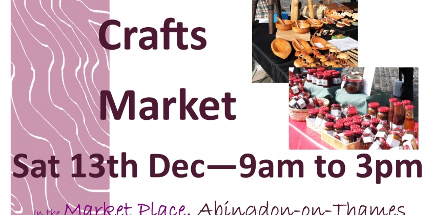 Christmas Inspiration at a genuine Crafts Market