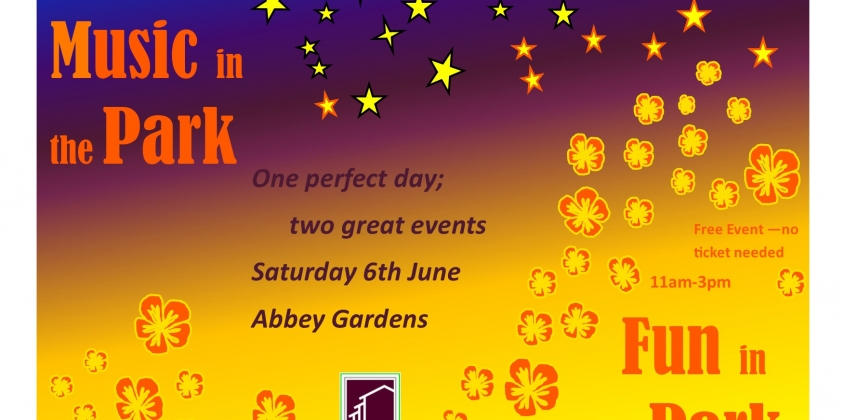 Get your wristbands for Music in the Park this Saturday.