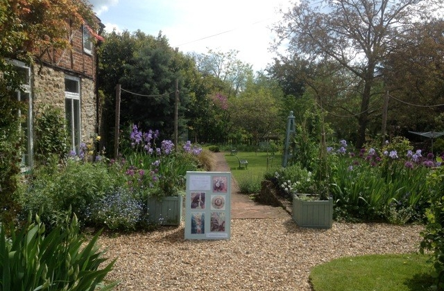 The Cottage Studio is in the idyllic St Ethelwold's Garden