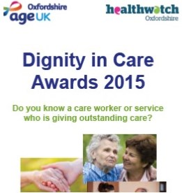 Nominate a great carer or centre for an award