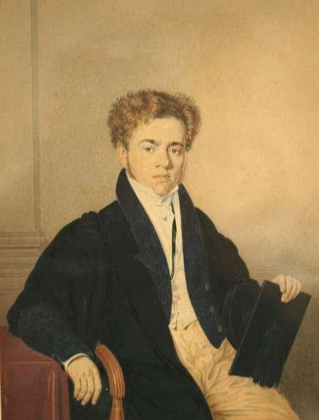 Figure 6. A young man. Watercolour.