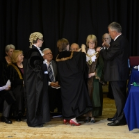 The Annual Meeting includes the installation of the new Mayor
