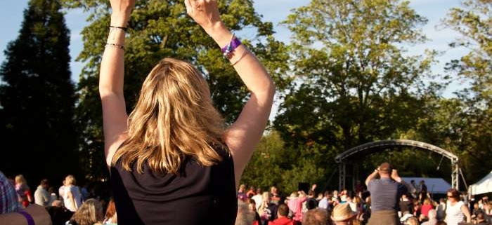 Wristbands for Music in the Park are set to sell out again this year