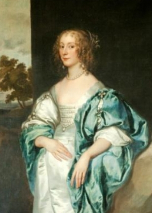 Mary Verney by van Dyck