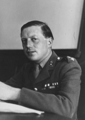 Airey Neave at the the Nuremberg trials