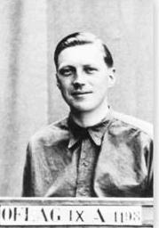 Neave as a prisoner of war in 1941