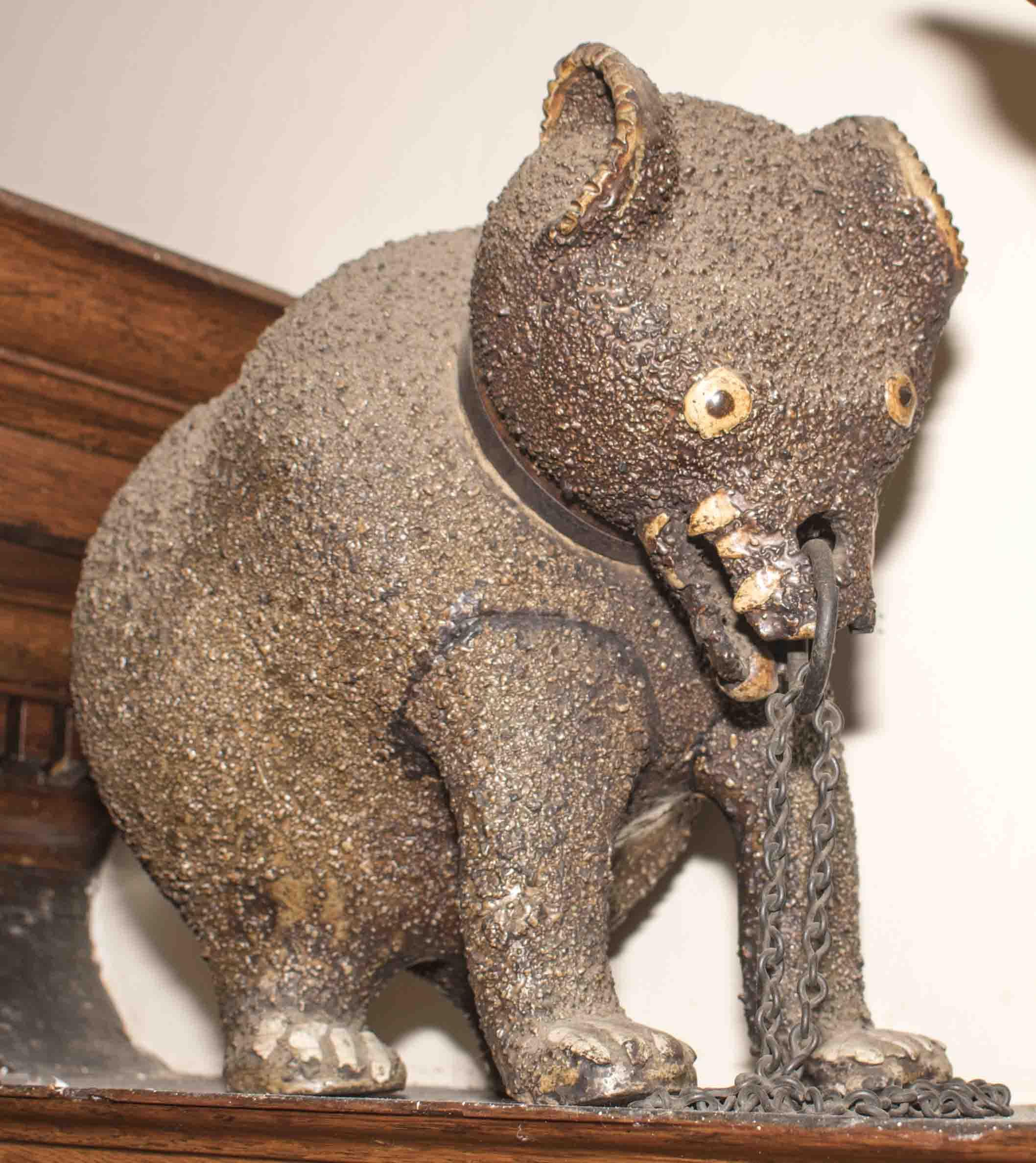 The Bear Mascot