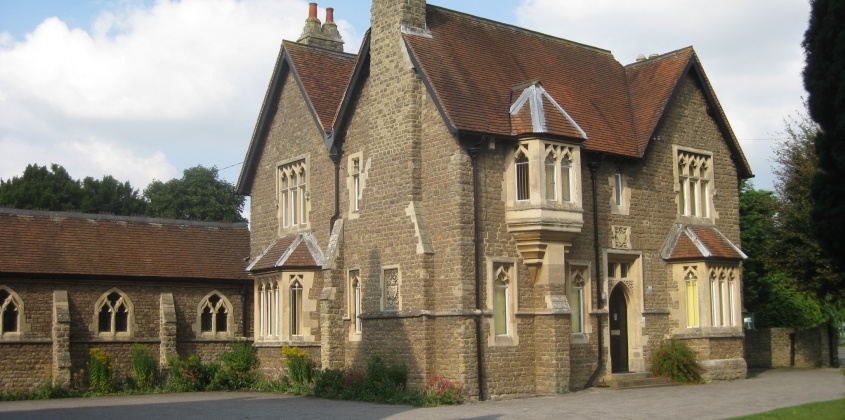 Our Lady and St Edmunds Church, presbytery and cloister