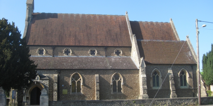 Our Lady and St Edmunds Church, south elevation