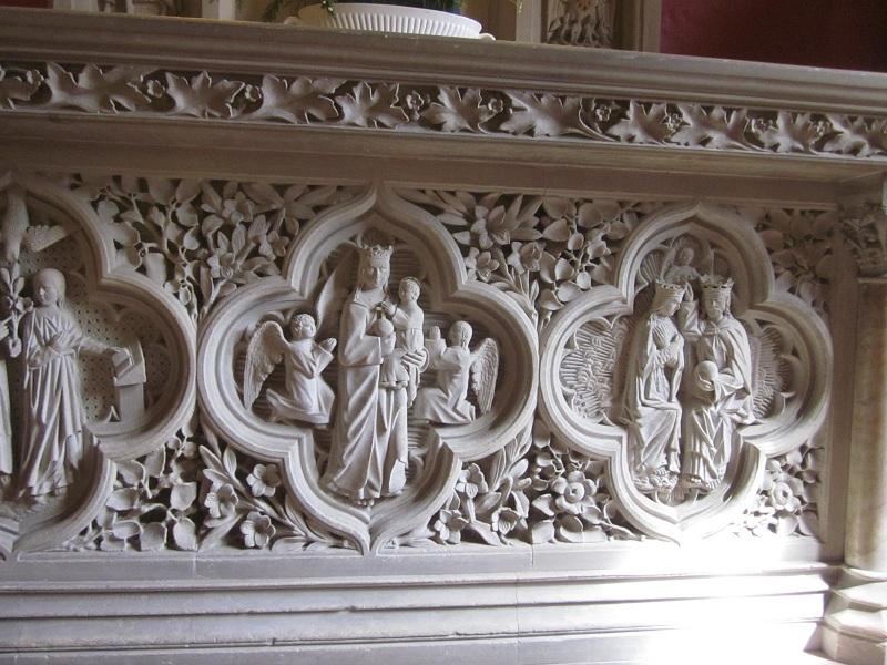 Figure 13 South chapel altar (© D Clark 2015)