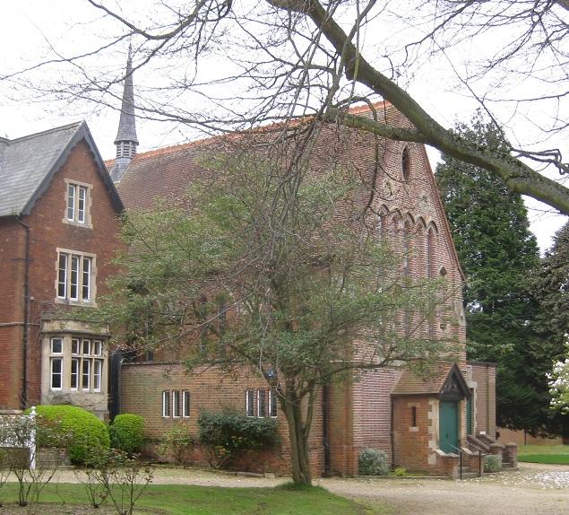 Figure 17 School chapel (Walters, 1884)