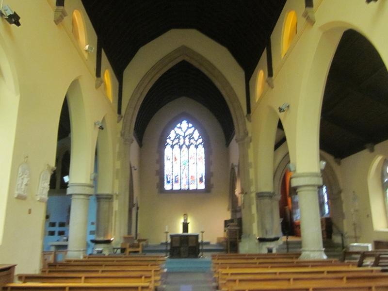Figure 9 Interior looking east