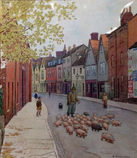 Fig. 10Broad Street, Abingdon, 1940