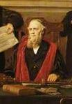 John Tomkins (V) as mayor in 1879 Detail from group portrait by Henry Jarmyn Brooks, by courtesy of Abingdon Town Council