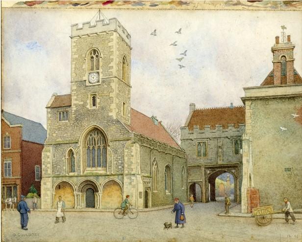 St Nicholas' Church and Abbey Gateway,