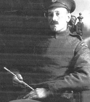 Albert Lock in about 1916 in Royal Flying Corps uniform