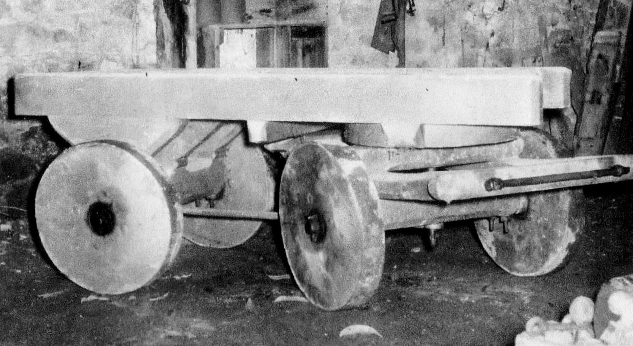 The stonemasons cart